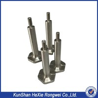 Direct factory cnc machining parts manufacturing lathe turned flexible drive shaft