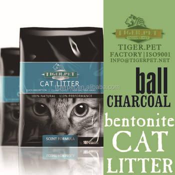 Spherical Activated Charcoal Bentonite Cat Litter