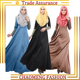 Fashion Large Size Appliques New Jilbabs Caftan Arab Garment Abaya Turkey In The Middle East Muslim Women Dress