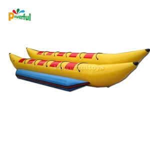 Funny water games inflatable float fly fish banana boat