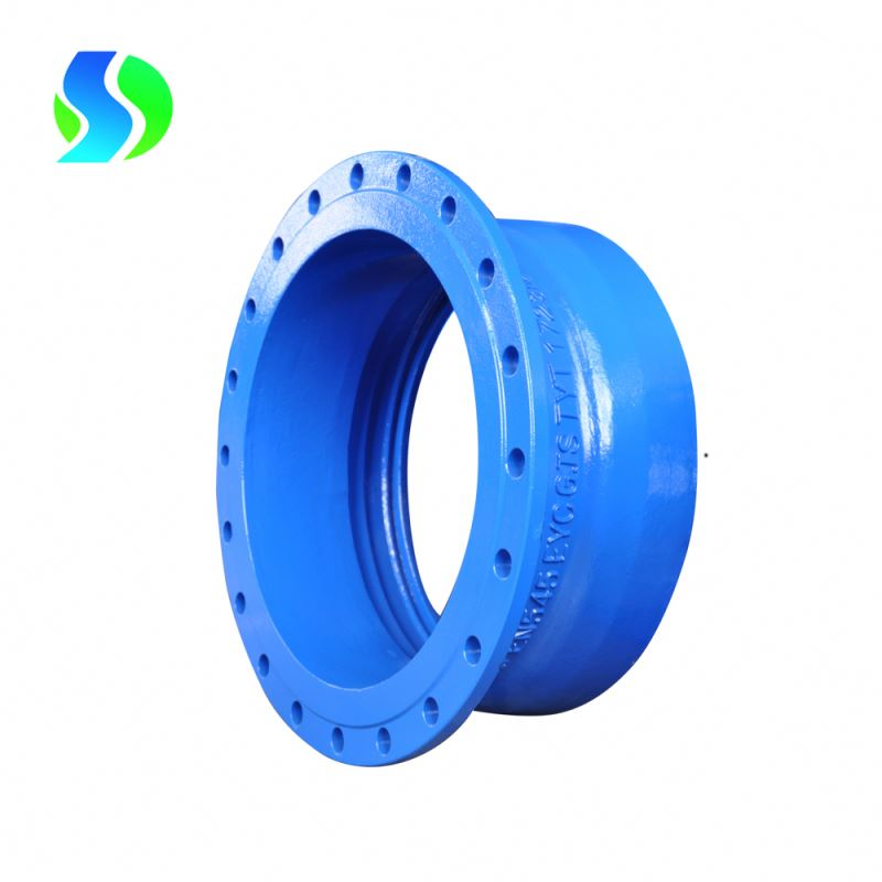 china awwa c110 flanged fittings flanged socket fittings ductile iron pipe fitting