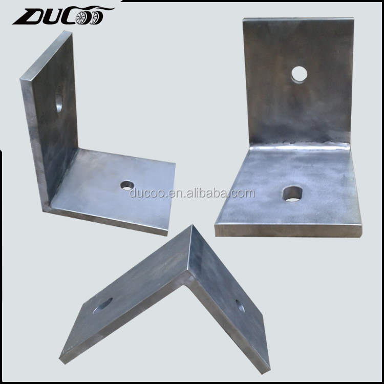 45 degree stainless steel corner angle support metal