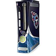 NFL Tennessee Titans Xbox 360 (Includes HDD) Skin - Tennessee Titans Vinyl Decal Skin For Your Xbox 360 (Includes HDD)
