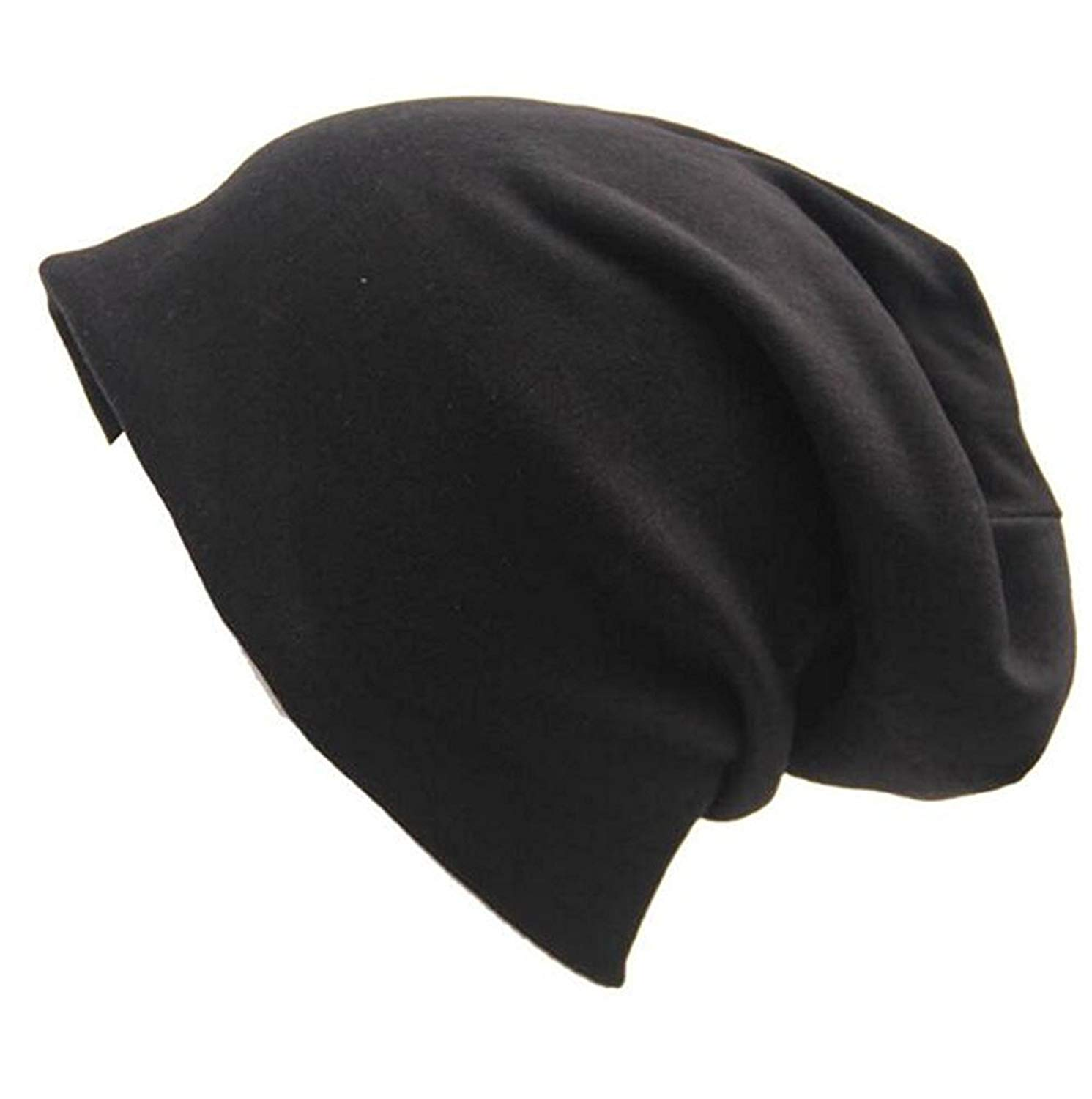 1bc77142bf3 Women Chemo Cap Indoors Sleep Caps Cotton Soft Baggy Stretch Skull Hats for  Hairloss Cancer Patients
