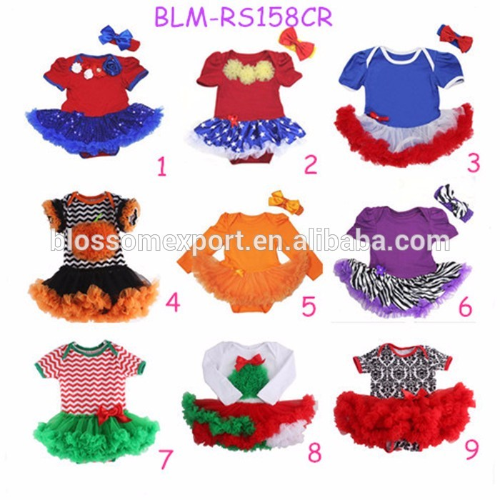 Little Blank Ruffled Baby Girl Clothes Romper Solid Infant Bubble Romper Chevron Toddler Baby Sun Suit Bubble Rompers