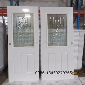 steel window grill arched exterior door with glass