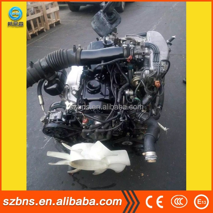 Japanese used car auto 4g15 gasoline Engine and gearbox with fine operation performance