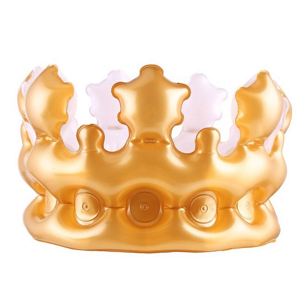 Majestic Plastic Jeweled Party King Crowns ~ Childrens Party Supplies party bundle 10