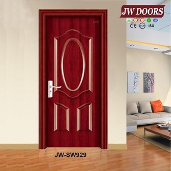 Modern steel wood single door design buy single door for Single door design