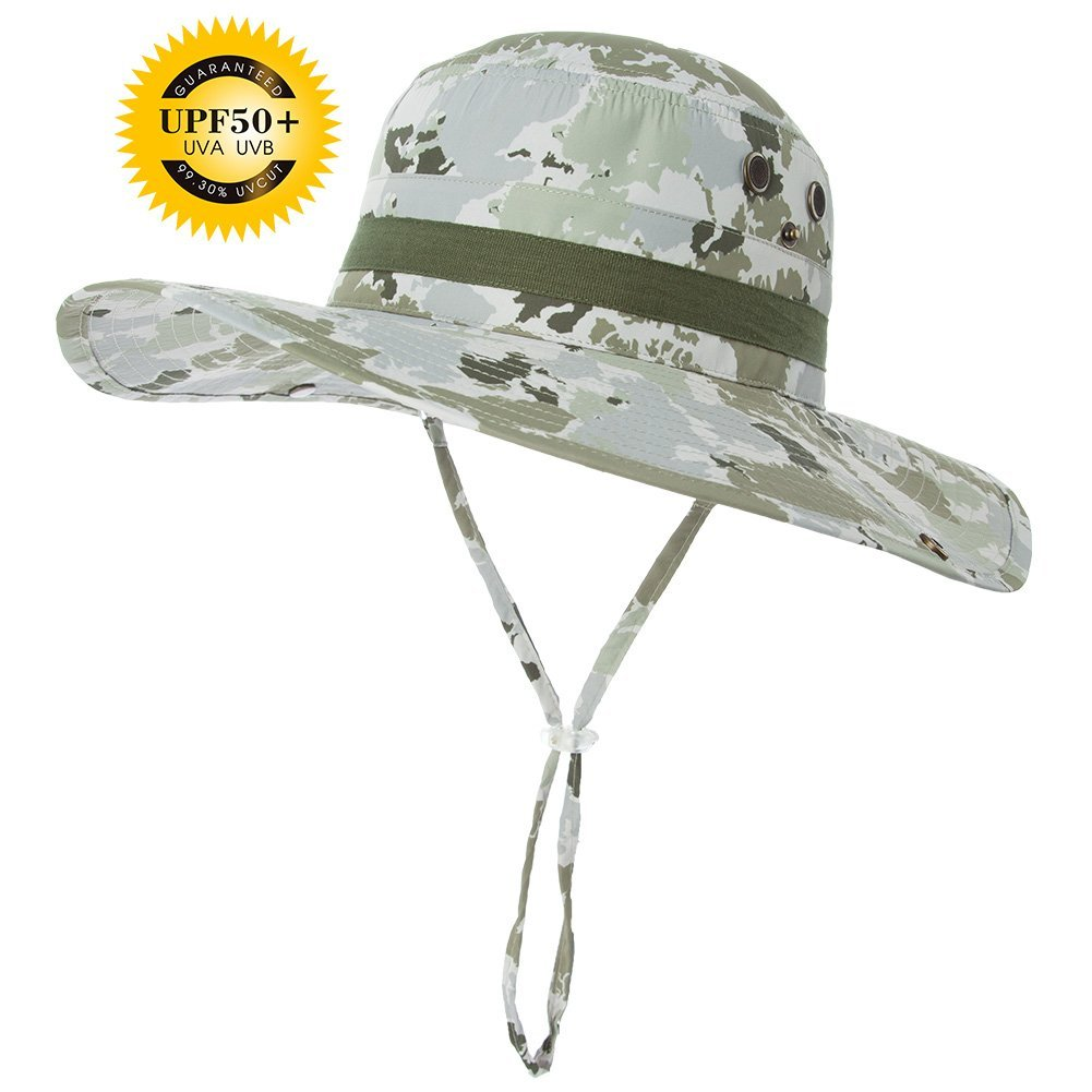 d0be6db27a7 Get Quotations · SIGGI Unisex Outdoor UPF50+ Packable Boonie Hat w Vented  Crown Lining Sunhat