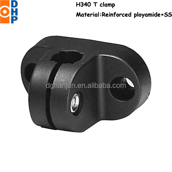 H339 Connecting Pipe Clamp For Tube/t Clamp For Square Tube ...