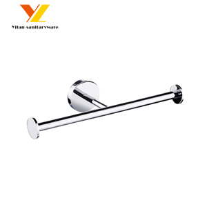 New Design Chromed Brass Double Toilet Paper Holder