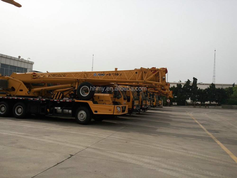 Used QY25K-II crane 100 ton liebherr crane in shanghai hot sell