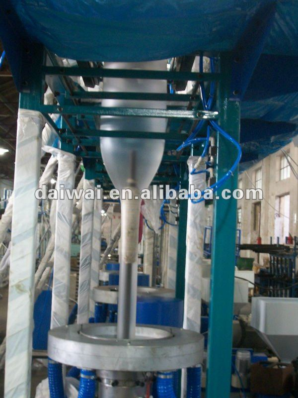 Plastic Bag Extrusion Machine Ld 32 With Double Winder And Corona