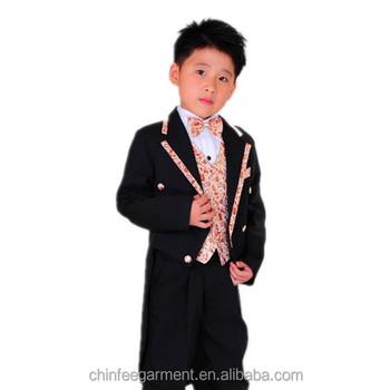 Wholesale Children Suits Tuxedo Prom Suit Boy Suit - Buy Children ...