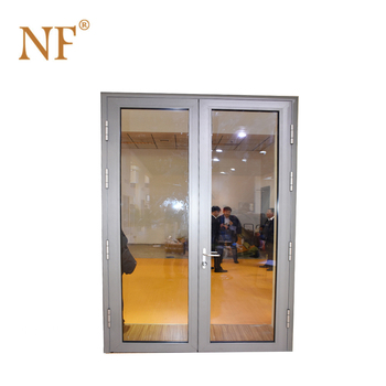Used Exterior French 48 Inches Swinging Doors With Roto Hardware For