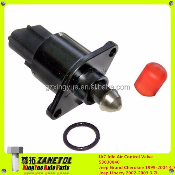 Auto IAC Idle Air Control Valve 53030840 Jeep Grand Cherokee 1999-2004 4.7L Jeep Liberty 2002-2003 3.7L""