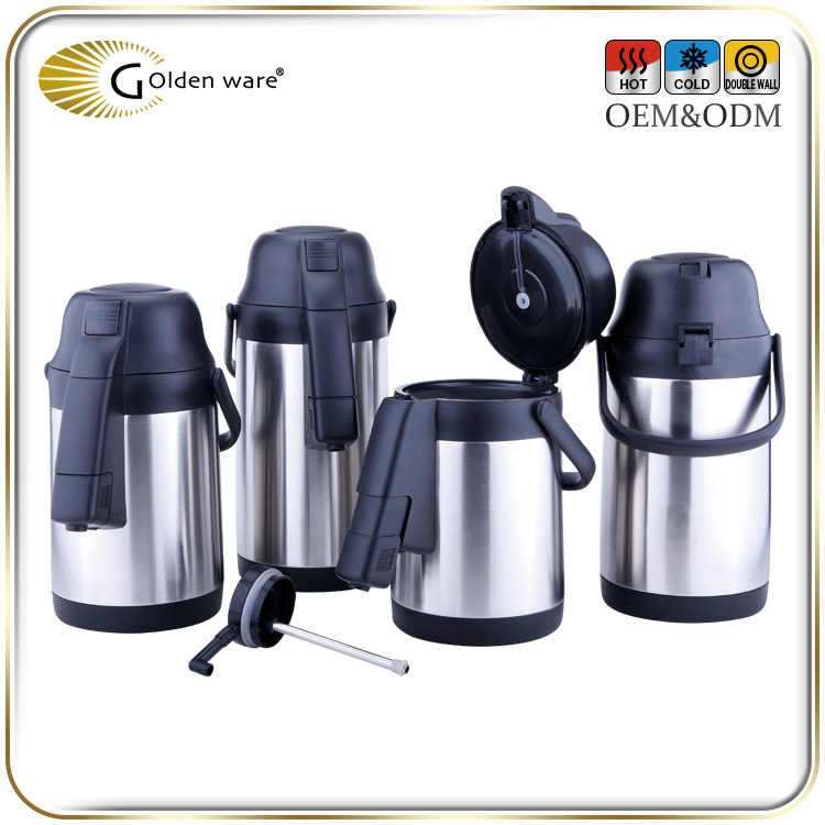 Golden Ware high-capacity 4.0L High Quality fashion electric tiger air pot in restaurant