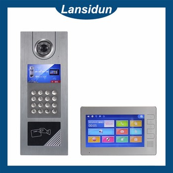 2017 Tcp/ip Video Intercom System For Building Apartments - Buy ...
