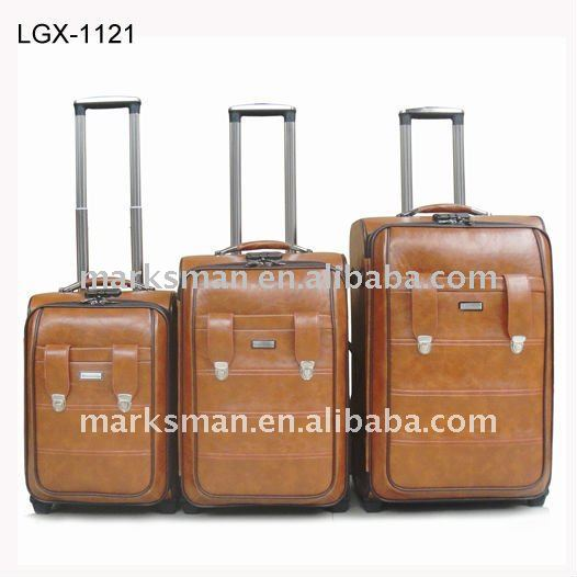 Designer Leather Luggage Set, Designer Leather Luggage Set ...