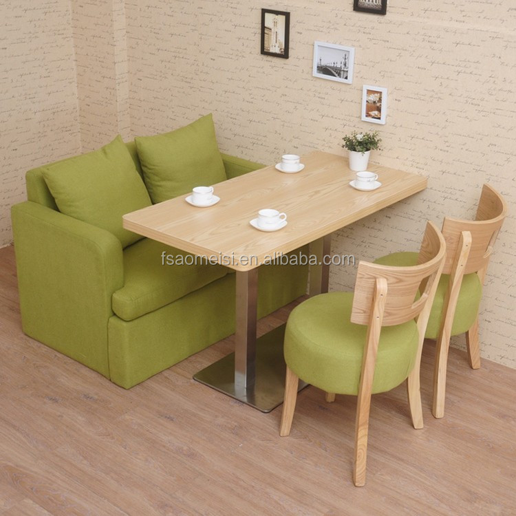 fast food furniture second hand dining table and chairs lounge chair
