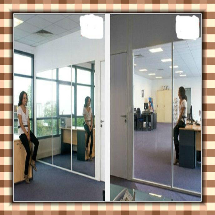 un espejo unidireccional de moda cristal de construcci n