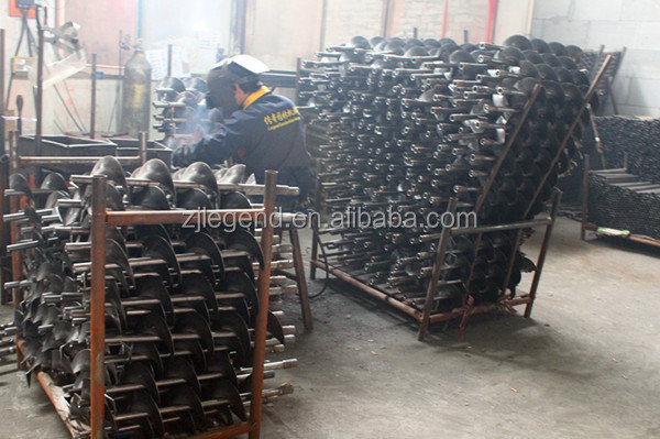 Hot sale Ground drill/earth auger sparepart-------drill bit for tree planting earth auger