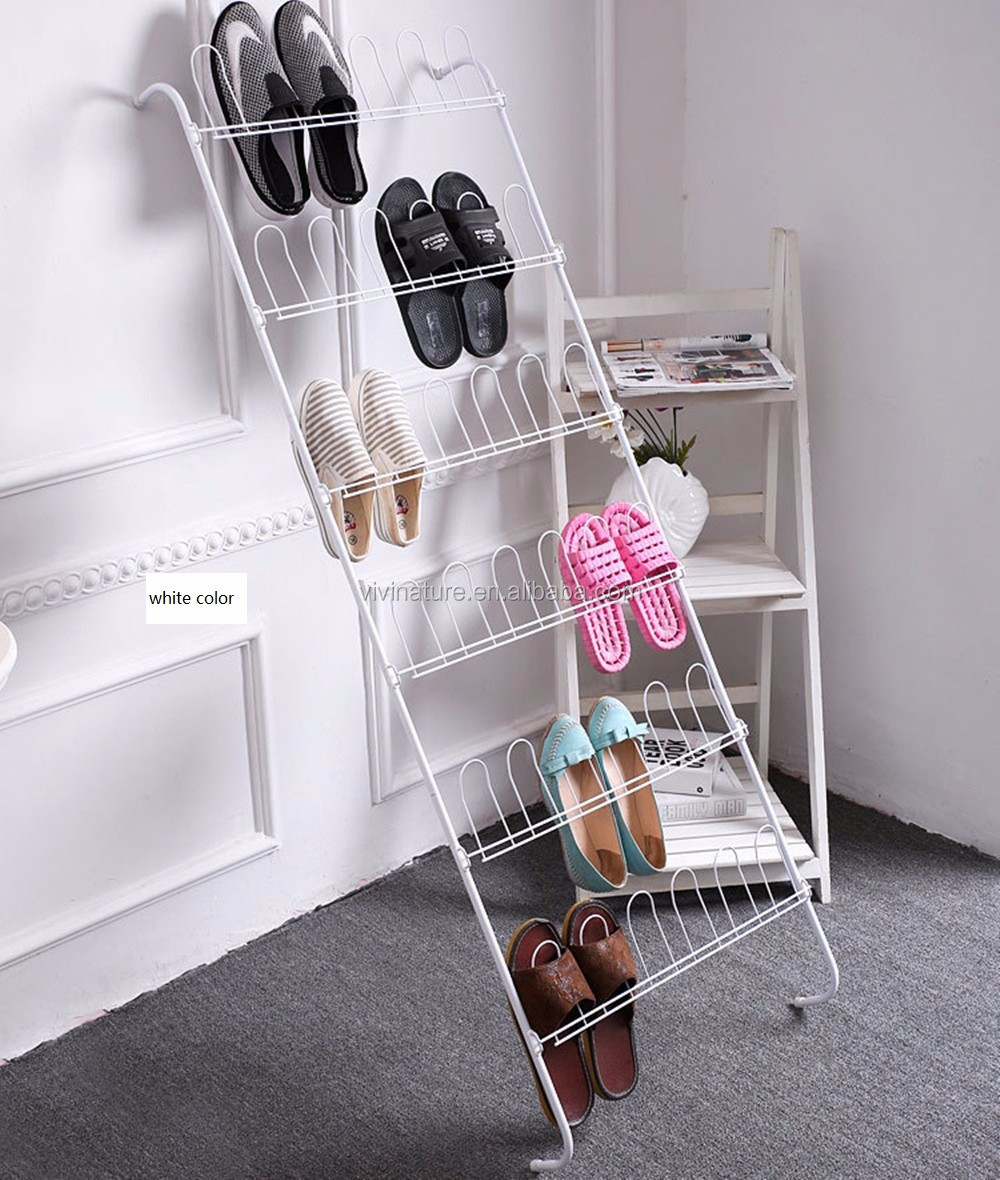 Over The Door Shoe Storage Rack With Metal Wire For 40 Pairs - Buy ...