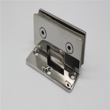 80# small size 90 degree stainless steel shower door hinge