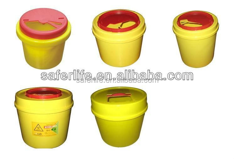 Hot Selling 3l Medical Waste Bins,Medical Sharp Containers For ...