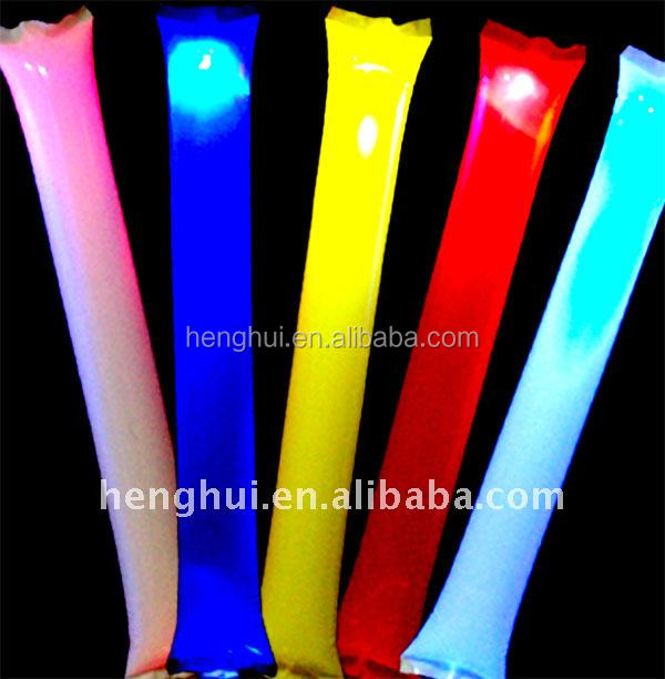 Colorful Custom Design Glowsticks Large Glow Sticks For Party /Birthday Gifts / Cheer Suppliers