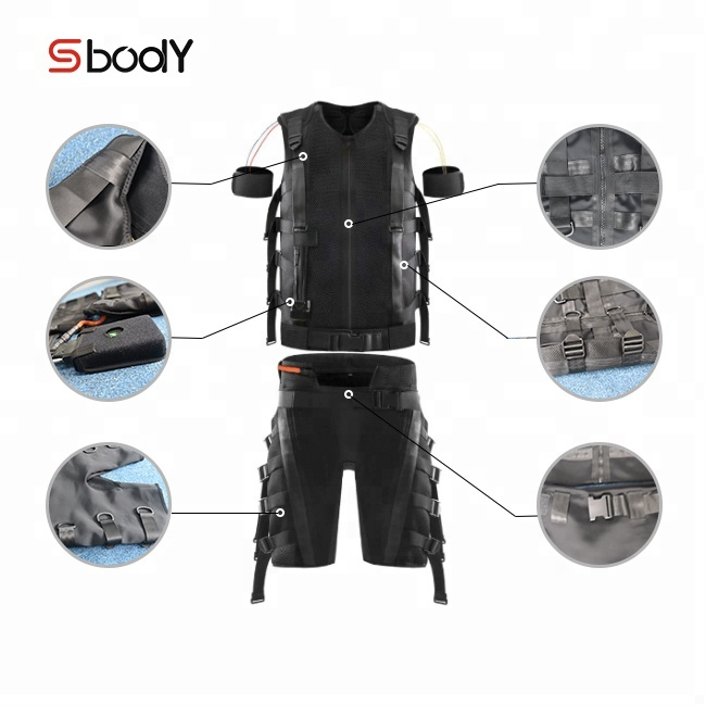 Wireless ems suit electrostimulation fitness machine price