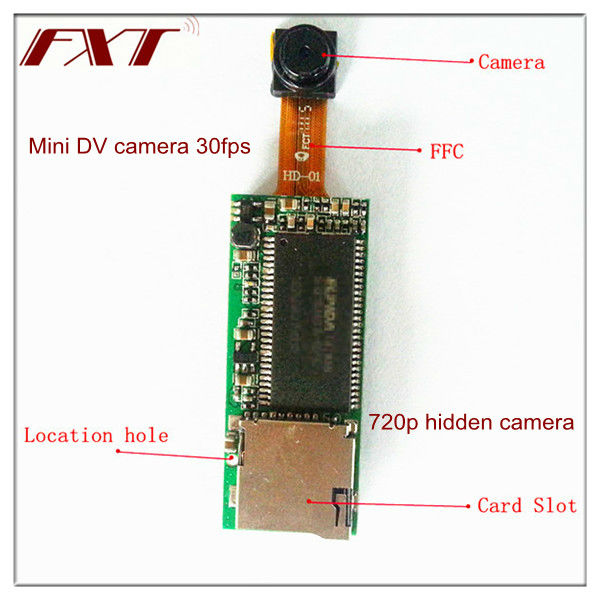 Fxt Hd Spy Cam Mini Cmos Camera Module