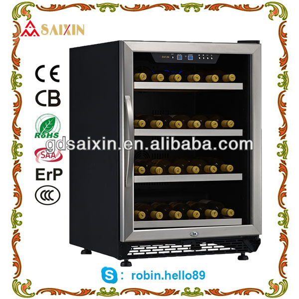 SRW-54S Wine cooler with fan cooling system/ cost efficient wine cellar
