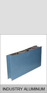 Photovoltaic system solar panel used aluminum profile