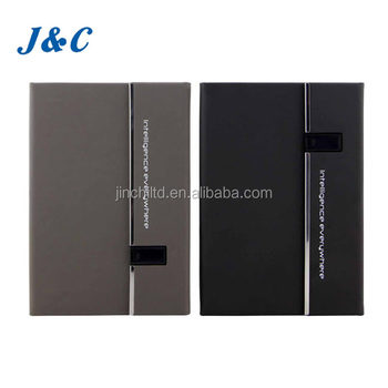 High quality PU leather USB notebook