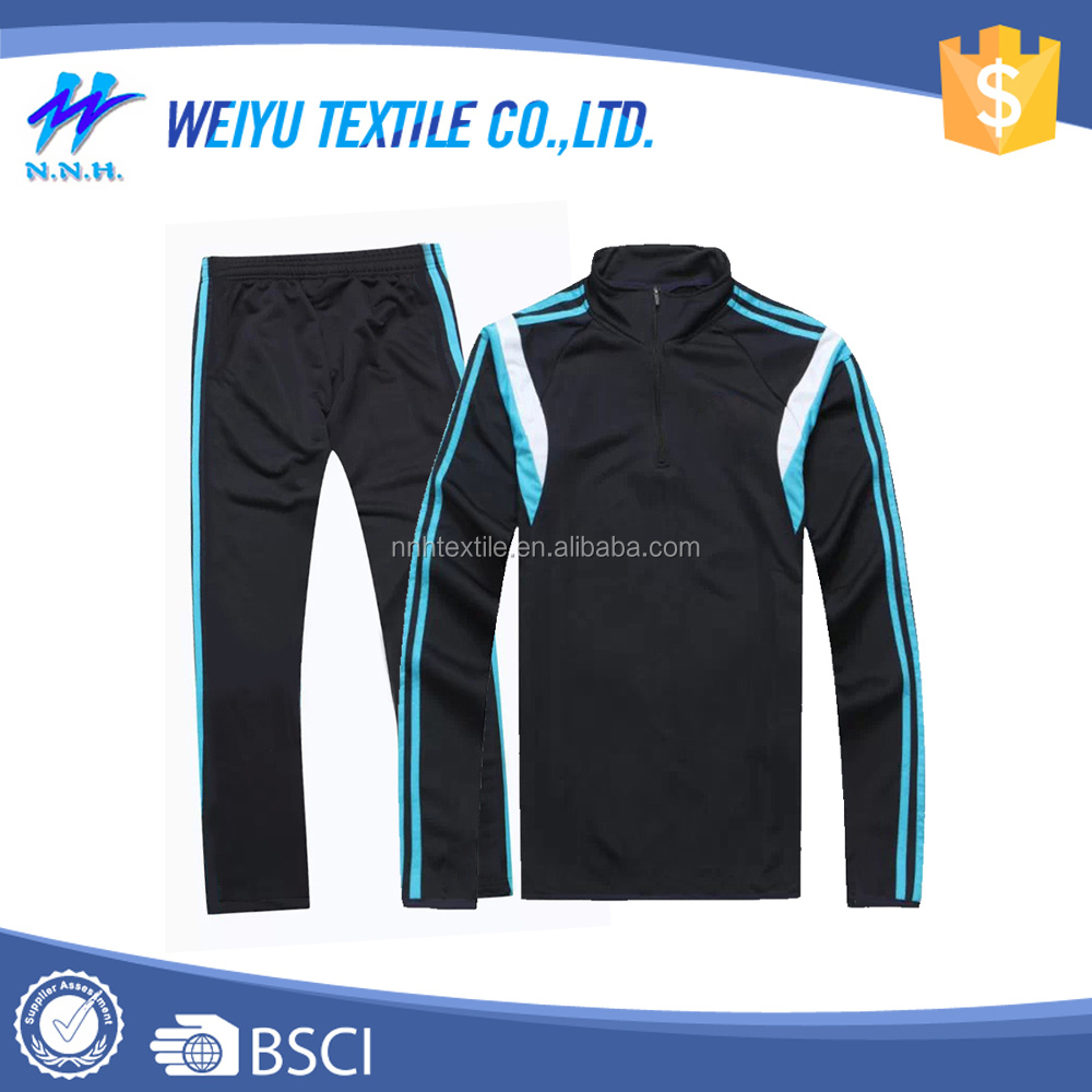 2016 New style gym casual sports track suits for men