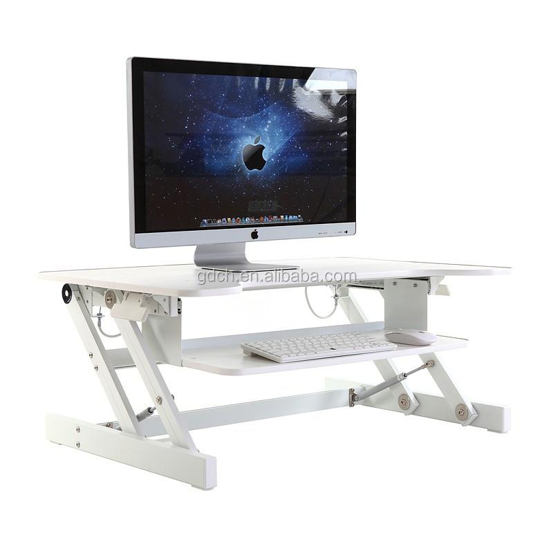 standing work height adjustable desk riser sit stand desk - Desk Riser