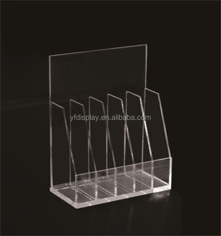 Clear Acrylic Small Display Stand for Office