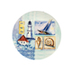 Food safe arrangement attractive face printed plastic children decorating plates, creative melamine kids breakfast plate