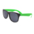 Custom Printed Logo Promotion Sweet Color Retro Rubberized Neon Two Tone Sunglasses  With CE And FDA