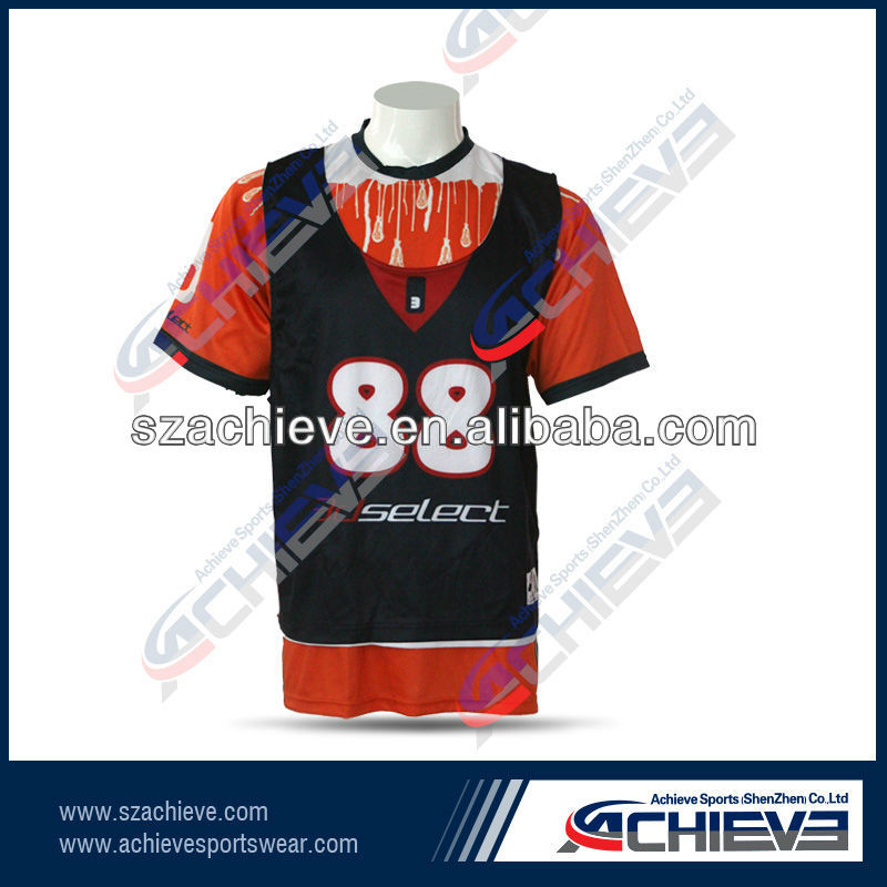 Personal number Unisex Black Training Lacrosse Reversibles Personalized Lacrosse Reversibles