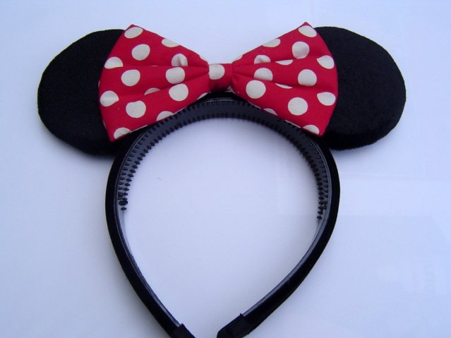 venta de bajo precio producto caliente reputación primero Minnie Mouse Ears Cute Bow Costume Dress Up Headband - Buy Minnie Mouse  Headband Product on Alibaba.com