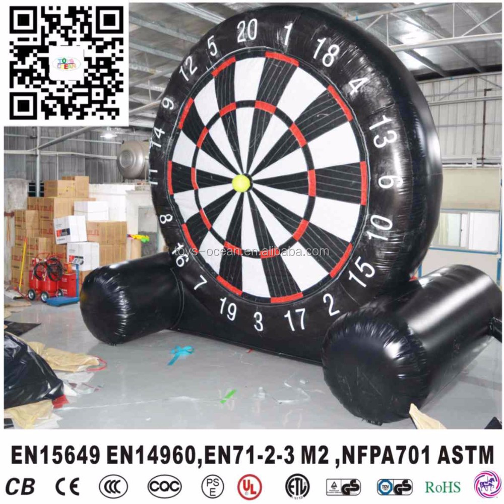 Hot Selling Inflatable Soccer Darts, Inflatable Soccer Dart Game for Sale