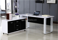 Modern metal office table/ceo office executive desk/office desk photo specification