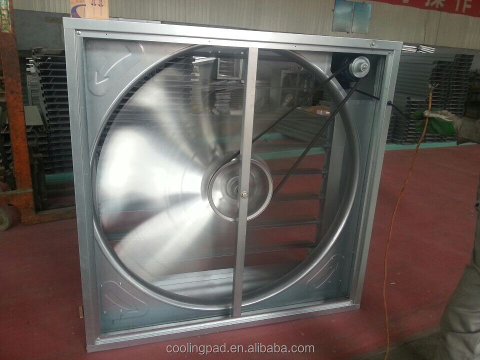Huasheng Axial Flow Impeller Centrifugal/Weight Balance Exhaust Fan For Ventilation System