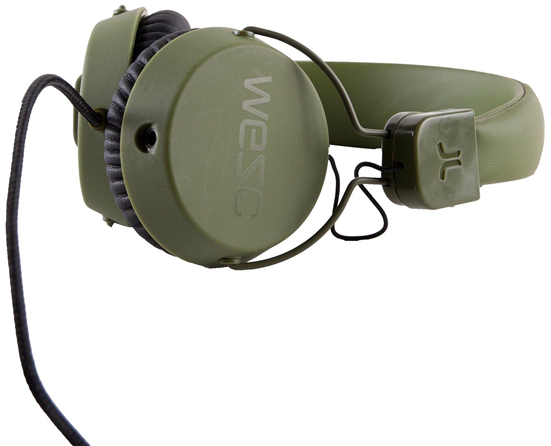 WeSC Unisex Pitston Street Headphones, Loden