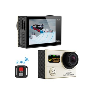 2.0'' Inch waterproof 1080P WIFI Dual Screen gopros Action Camera