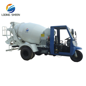 Tricycle Truck 1m3 Mobile Small mini Concrete Mixer Cement Mixing Equipment