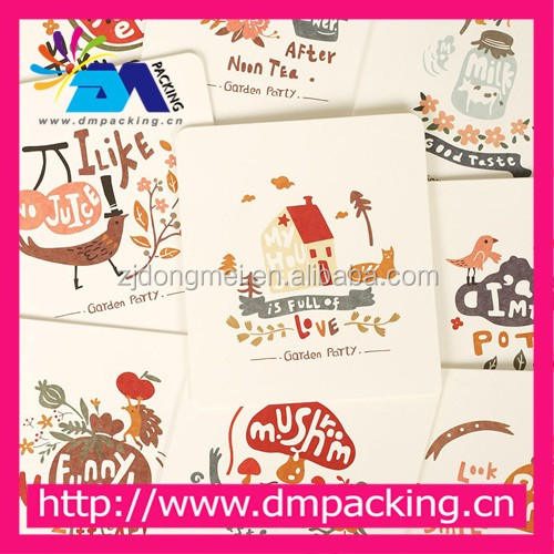 card + envelope /lot fresh style Mini greeting card birthday and christmas envelope writing paper cards
